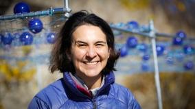 Carolina Aragon, Assistant Professor of Landscape Architecture, University of Massachusetts, is the brain behind FutureWATERS/AGUASfuturas (Photo credit: Rudi Seitz)